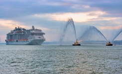 "MSC BELLISSIMA TO BE THE ""BELLE OF THE BALL"" AS SHE PREPARES TO BE NAMED IN SOUTHAMPTON, UK"