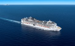 MSC CRUISES CELEBRATES FLOAT OUT OF MSC GRANDIOSA